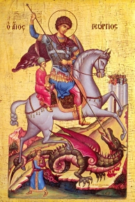St. George the dragon-slayer